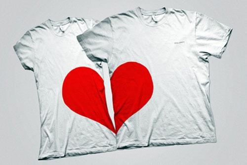 franelas para enamorados