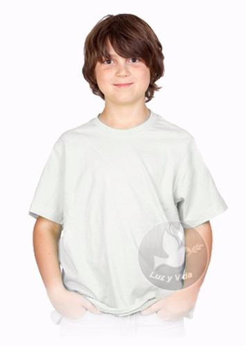franelas para sublimar  de niños 100% poliester