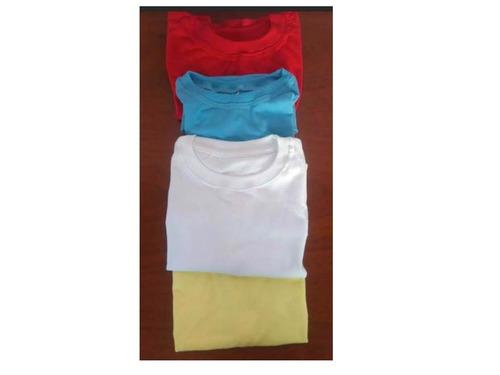 franelas para uniforme escolar y preescolar tallas 2-4-6-8