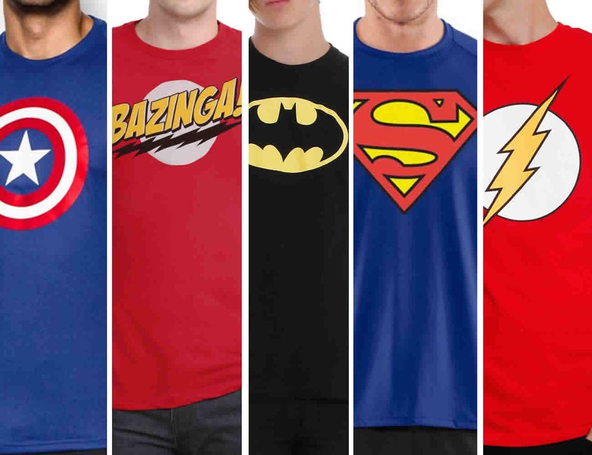 franelas superman batman starwars bazinga personalizadas. Cargando zoom. 103b78f4b7214