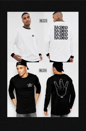 franelas y sueteres caballero basico clothes coleccion 2019