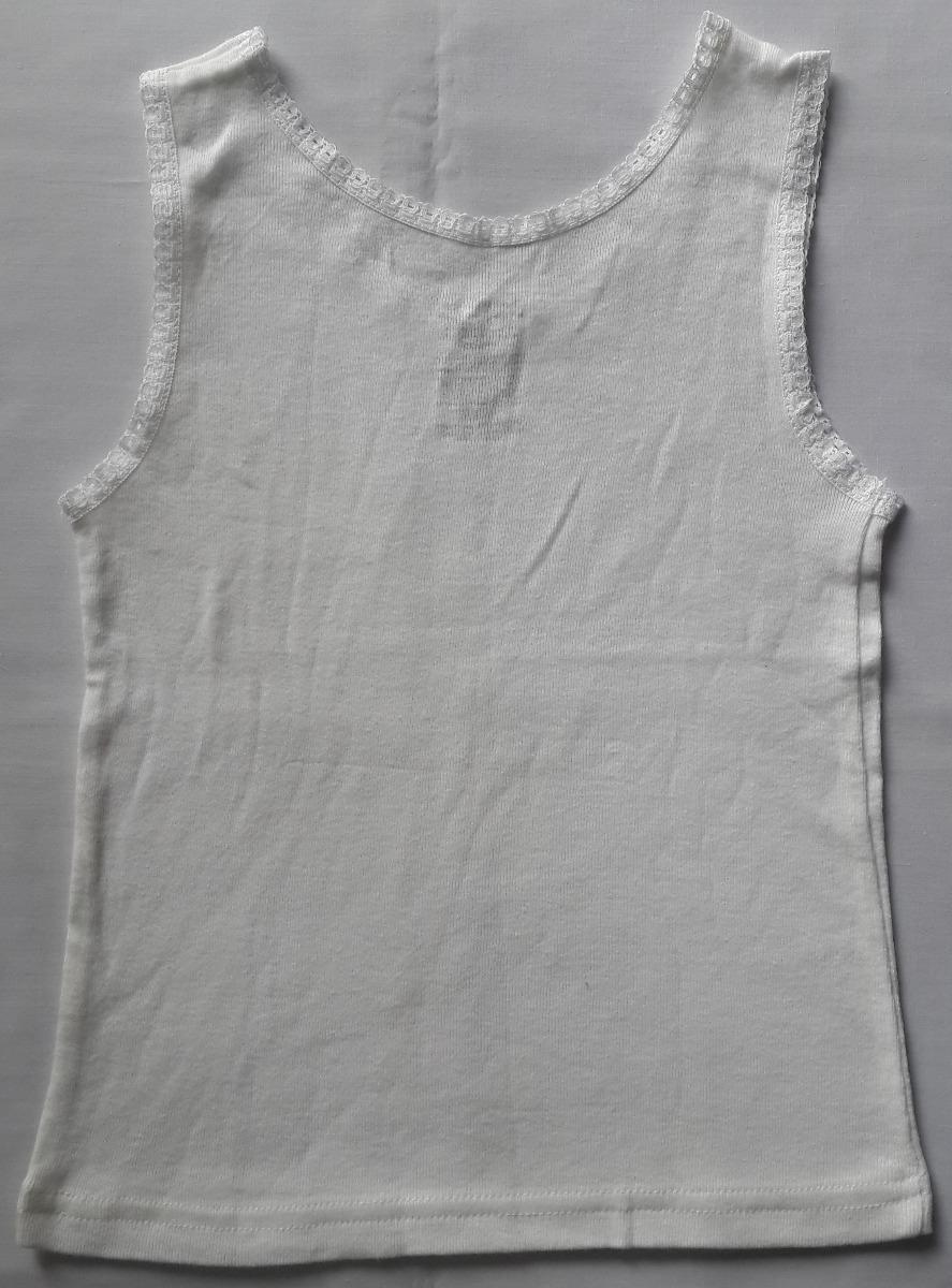 9cf0d5cdf Franelilla Camiseta Con Encaje Para Niña Faded Glory Talla 4
