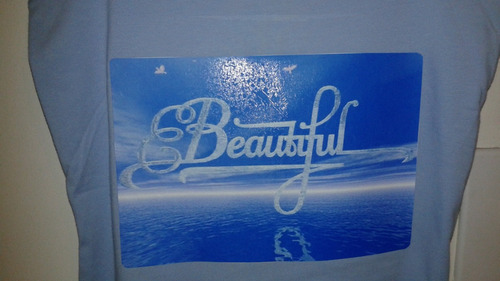 franelilla nobo azul celeste beautiful talla l