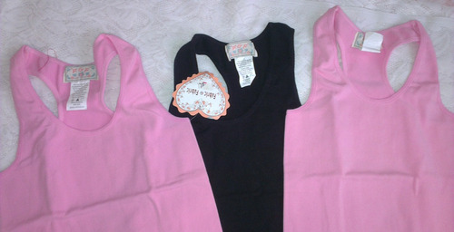 franelilla s/costura  talla u marca  f  &  f   * e . r