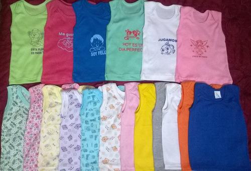 franelillas camiseta almillas bebes recien nacido/niño/niña