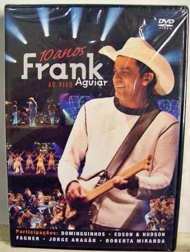 frank aguiar ao vivo dvd lacrado com participações