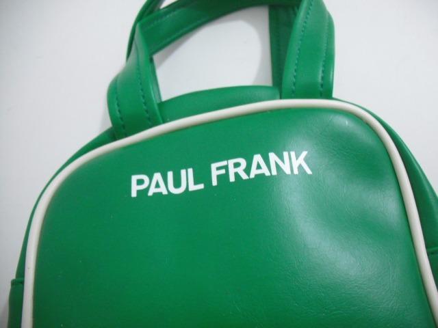 80fe9fff9 frank couro sintetico bolsa paul · bolsa paul frank verde macaco 18 x 18 cm  couro sintetico