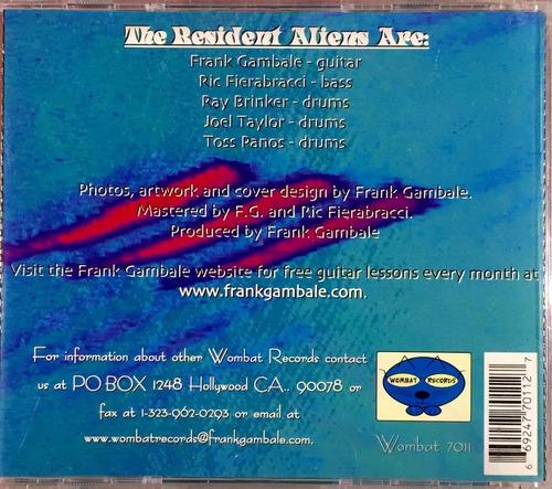 frank gambale - resident alien - bootlegs - 2cd imp lacrado