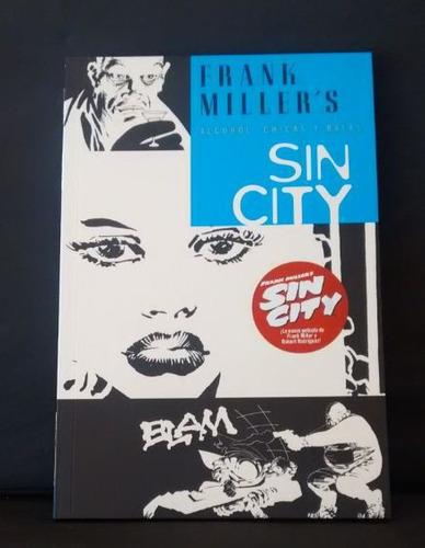 frank miller - sin city - alcohol, chicas y balas