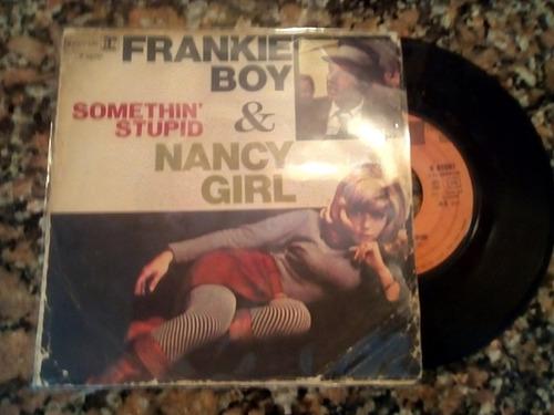 frank & nancy sinatra somethin stupid simple vinilo