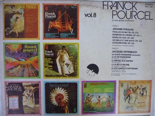 frank pourcel/páginas célebres vol. 8/disco vinilo