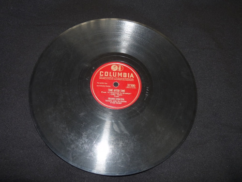 frank sinatra 78 rpm i believe / time after time