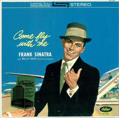 frank sinatra - come fly with me vinilo nuevo y sellado
