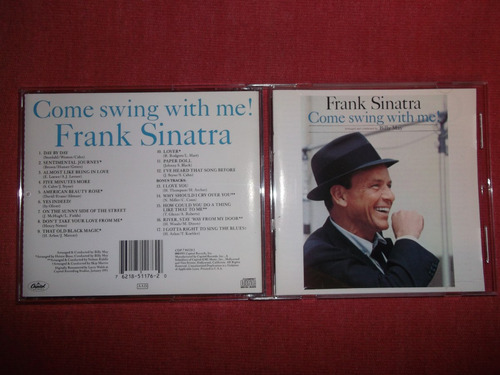 frank sinatra - come swing with me cd usa ed 1991 mdisk