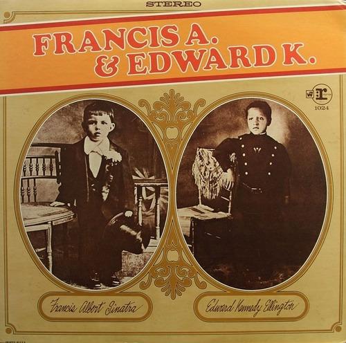 frank sinatra & duke ellington - lp francis a. & edward k.