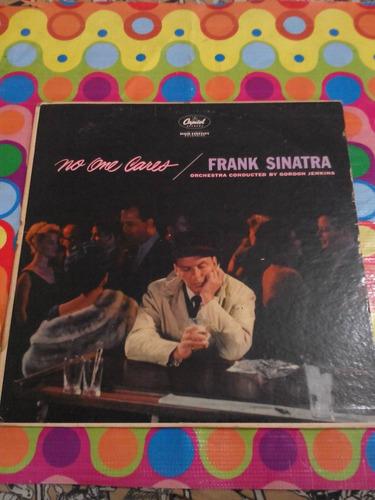 frank sinatra lp no one cares. importado usa.