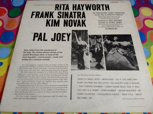 frank sinatra lp pal joey soundtrack rita hayworth,kim novak