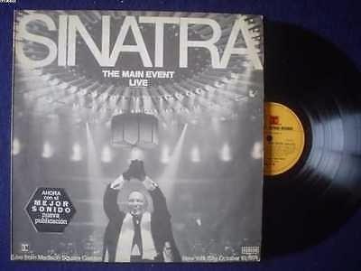 frank sinatra lp the main event live  edicion argentina !!