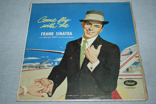 frank sinatra - lp / vinil come fly with me (beatles, jobim)