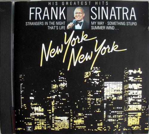 frank sinatra - new york new york - cd imp. alemania