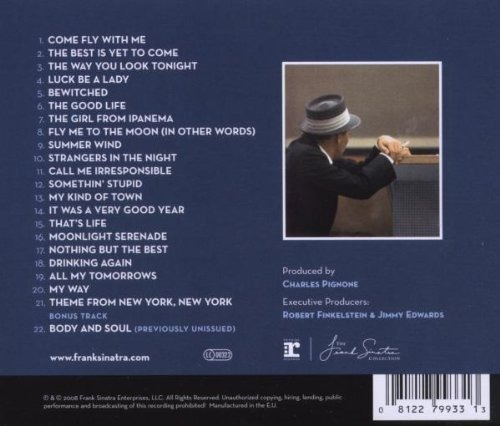 frank sinatra - nothing but the best - cd.