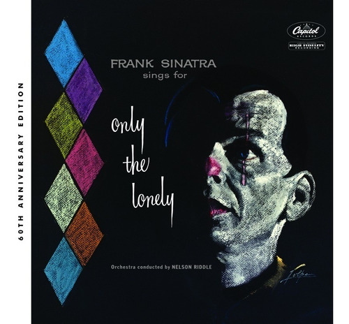 frank sinatra only the lonely 60th anniversary cd nuevo 2018