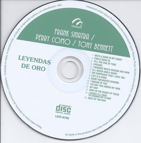 frank sinatra - perry como -tony bennett - cd nacional