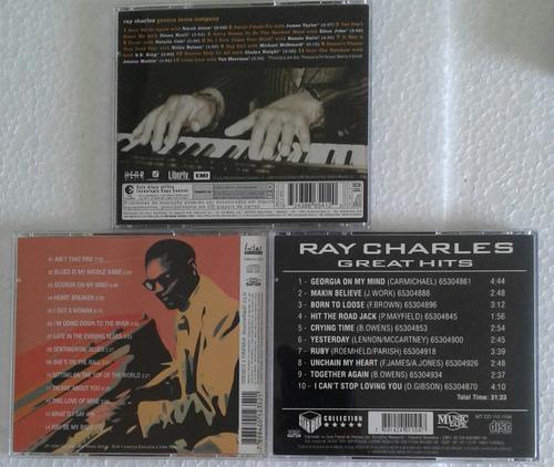 frank sinatra / ray charles  05 cds raros e conservados