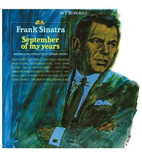 frank sinatra - september of my years - vinilo 180grs.