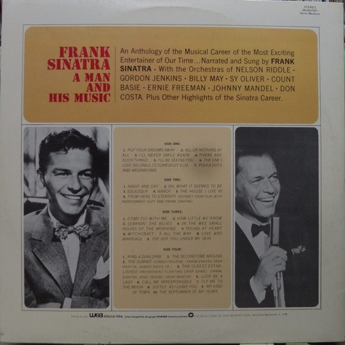 frank sinatra star colection lp  album duplo  jazz blues
