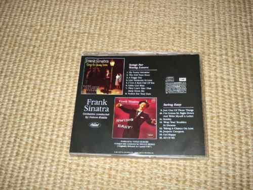 frank sinatra  swing easy+songs for cd exclusivo brasil 1988