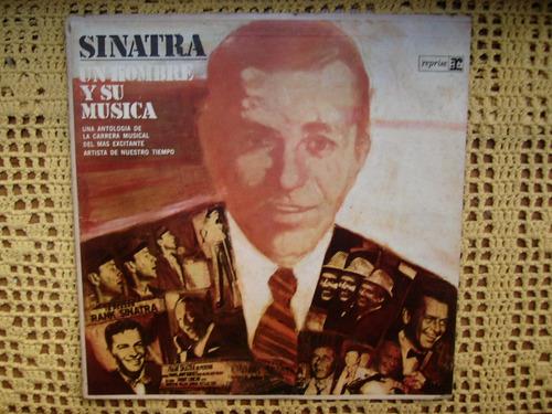 frank sinatra / un hombre y su musica - lp de vinilo promo
