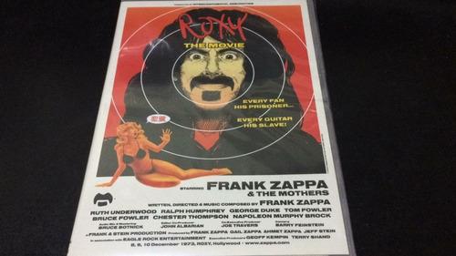 frank zappa - roxy the movie - dvd nuevo cerrado