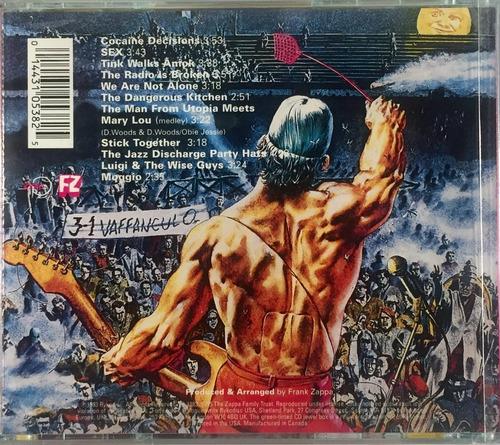 frank zappa - the man from utopia - cd importado lacrado