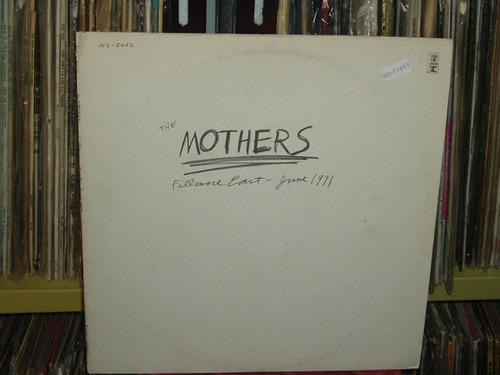 frank zappa & the mothers fillmore east june 71 lp americano