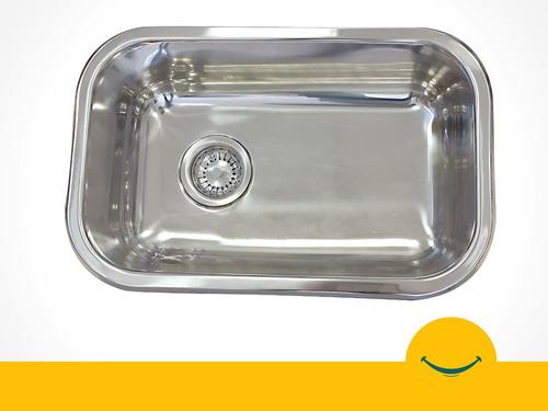 franke bacha pileta cocina simple 52x32x18 cm acero inox 304
