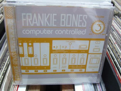 frankie bones computer controlled 3 cd electro techno nuevo