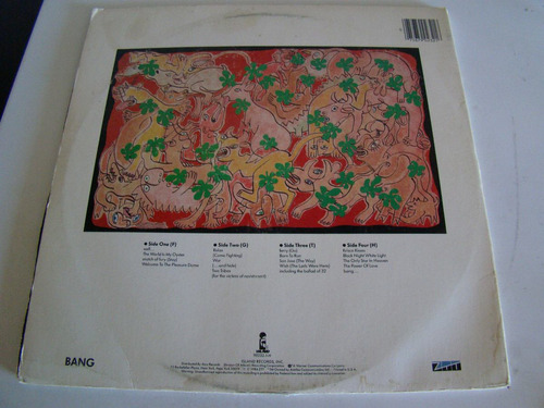 frankie goes to hollywood welcome the pleasure dome 2 lp usa