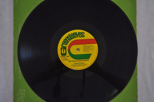 frankie jones, no touch the riddim, maxi single, vinil