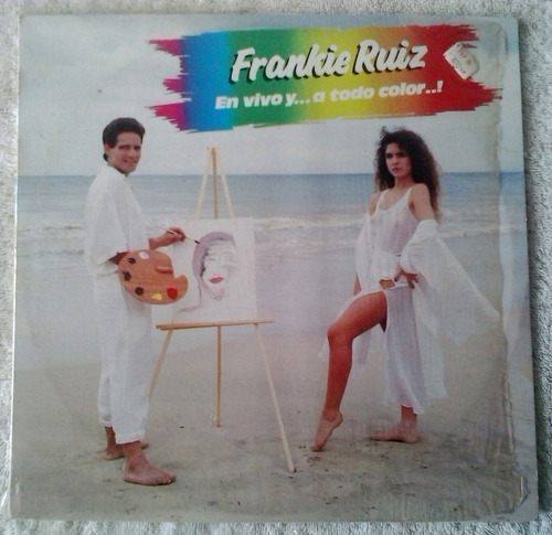 frankie ruiz - en vivo y...a todo color..! lp
