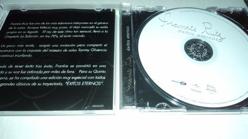 frankie ruiz exitos eternos cd salsa de colecicon