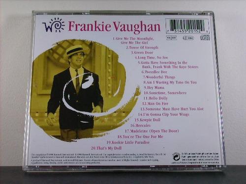 frankie vaughan the world of cd orig imp raridade av8