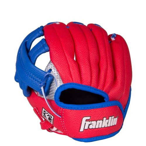 franklin sports air tech zurdo juvenil guante de béisbol ju