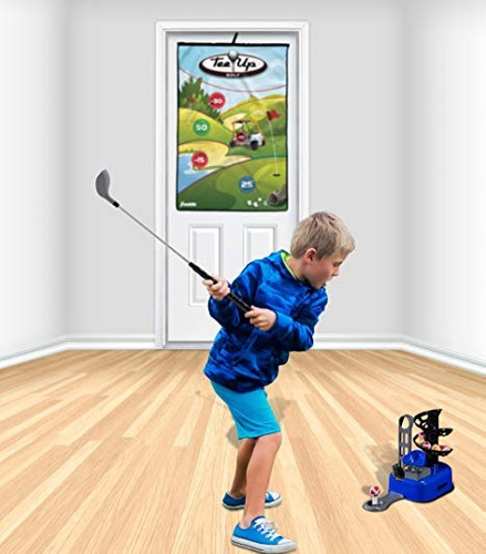 franklin sports kids golf set - tee up golf with target game