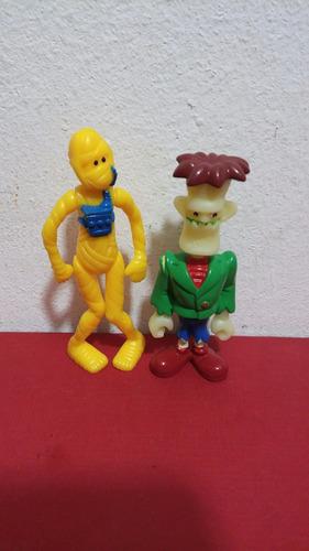 franky y momia amarilla huevo kinder 2 figuras