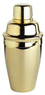 franmara premium set cocktail shaker - 8 oz de oro plateado