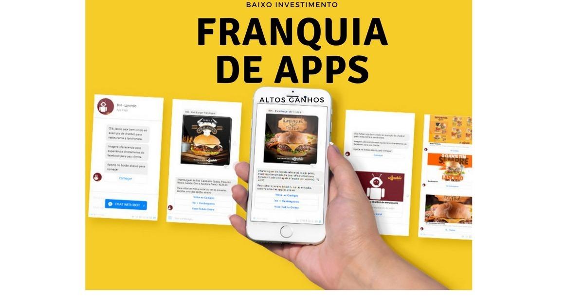 1f0451cc1 Franquia De Aplicativos Home Office - R$ 899,00 em Mercado Livre