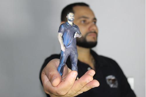 franquia impressão 3d miniaturas humanas