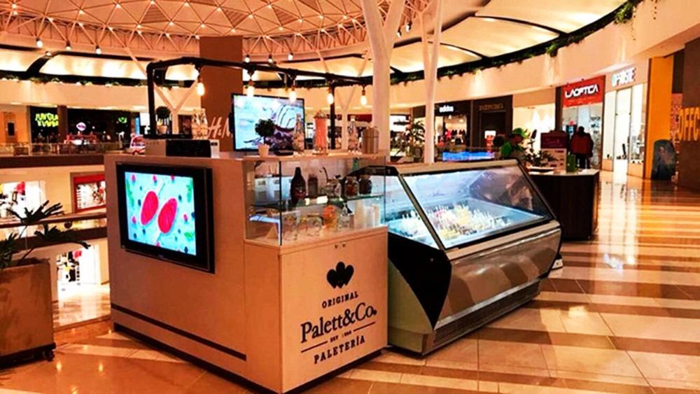 franquicia de 8 m2. papra instalar en centro comercial