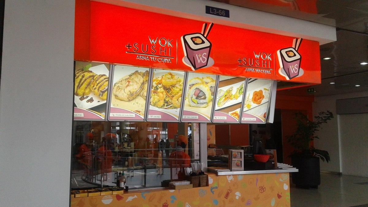 franquicias restaurantes negocios wok mas sushi colombia
